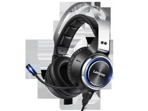 HS25 Gaming Headset Virtual 7.1 Channel Realistic Stereo Realistic Stereo 50mm Speaker Noise Reduction Microphone USB Interface  for PC