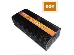 Car Inverter Modified Sine Wave Electric Car Booster High-power Power Converter 12V / 24V to 220V 2000W/3000W/4000W-12V-220V/4000W