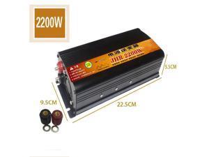 Car Inverter Modified Sine Wave Electric Car Booster High-power Power Converter 12V / 24V to 220V 2000W/3000W/4000W-24V-220V/2200W