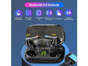 Bluetooth 5.0 Earbuds Headphones Wireless Headset Noise Cancelling Earphone IPX5