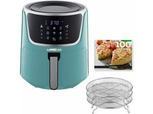 7-Quart Touchscreen Electric Air Fryer with Dehydrator