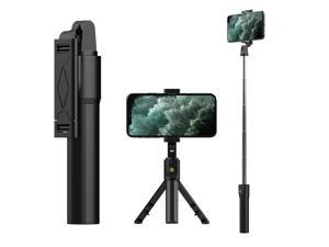 Extendable Wireless Selfie Stick Tripod Monopod Desktop Stand For iPhone 11/XS/8