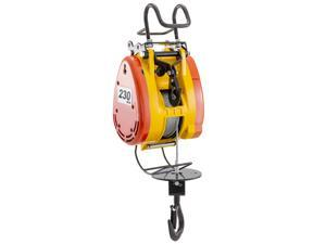 Electric Wire Rope Hoist 230kg Capacity 30m Wire Rope Pulling System