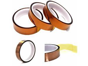 10/20/30mmX 100Ft Gold High Temperature Heat Resistant Kapton Tape Polyimide BGA