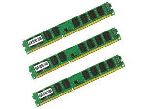 3PCS 8GB DDR3 1600 PC3-12800 Desktop 240PIN Memory RAM
