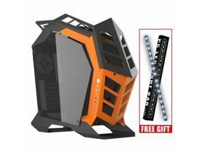Knight Open Frame ATX/Micro ATX Gaming PC Desktop Computer Case