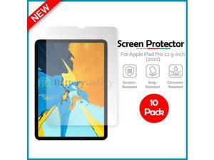 10-Pack LCD Clear Screen Shield Protector for  iPad Pro 12.9-inch 2021