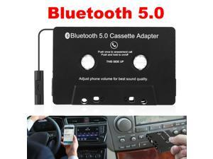 Bluetooth 5.0 Car Audio Stereo Cassette Tape Adapter To Aux for iphone