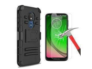 For  Moto G7 Play/Optimo/G7 Power/Supra Case With Clip/Screen Protector
