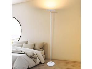 """66"""" High LED Floor Lamp High Lumen Light  for Living Rooms and Offices Dimmable"""