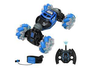 Remote Control Off-Road Stunt Car Gesture Sensing 4WD Double-Sided Flip 360Drift