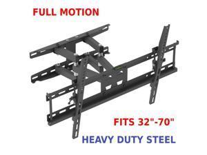 Full Motion TV Wall Mount VESA Bracket for 32 46 50 55 60 in LED LCD Flat Screen