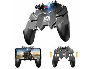 6Finger Key Button Fire Joystick Game Controller All-in-One Gamepad For PUBG IOS