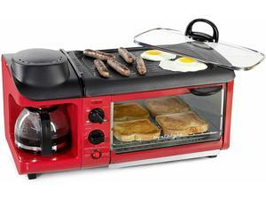 Retro 3-in-1 Family Size Electric Breakfast Ston