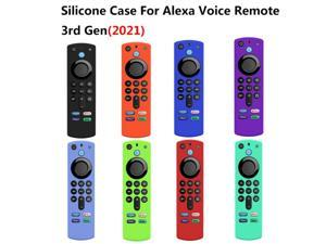 TV Remote Control Cover Protective Case For Fire TV Stick 4K 3rd Controller Shockproof Case Cover For Amazon Remote Control