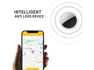 Smart Tag Bluetooth Tracer For Apple AirTag Tracker Buckle Anti-lost Device GPS Locator Pet Dog Key Finder Button Battery CR2032