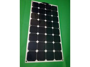 authentic home car battery life semi-flexible single crystal silicon  panel power generation 12v system
