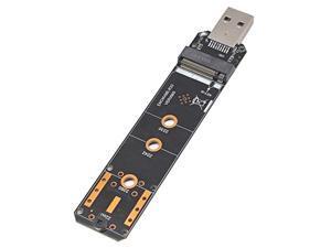 3.1 to NVME Hard Disk Enclosure SATA Dual Protocol M.2 NGFF Protocol to a Port RTL9210B