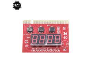 4-Digit Computer Motherboard Mini PCIE LPC Debug Post Card  Digital PCI PCI-E LED Diagnostic Display Tester card Test PC Desktop