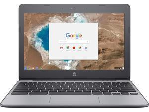 "HP Chromebook X7T69UA Laptop Computer, 1.60 GHz Dual Core, 4GB DDR3 RAM, 16GB SSD Hard Drive, Chrome, 11"" Screen"