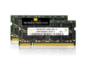 SK Hynix HYMP125S64CP8-Y5 4GB(2X2GB) 2RX8 PC2-5300S DDR2 667Mhz 200Pin Memory Laptop Notebook SODIMM