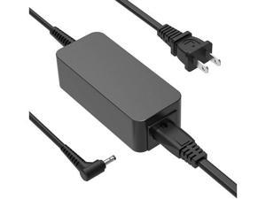 45W AC Charger Fit for Lenovo IdeaPad 100 100S 100-15 100-14 100S-14 100-15IBD 100-15IBY 100-14IBD 100-14IBY 100S-14IBR 100S-14IBY Chromebook Chromebook-11iby Laptop Power Supply Adapter Cord