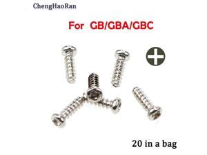 Applicable to Nintend GB/GB.A/GB.C game machine universal installed screw GBAGBCGB case cover cross screw bag inside 20