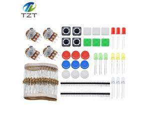 Handy Portable Resistor Kit for Arduino Starter Kit UNO R3 LED potentiometer tact switch pin header