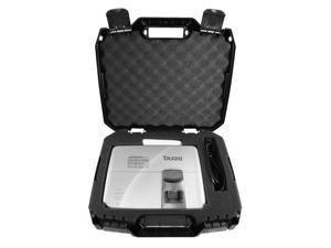 CASEMATIX Video Projector Travel Case Compatible with BENQ HT2050A, MX707, MH535FHD, MH535A, MW535A, HT1070A, MS524AE, HT1070A, MW526AE, MH530FHD, MW632ST, MW571 Home Theatre Projectors