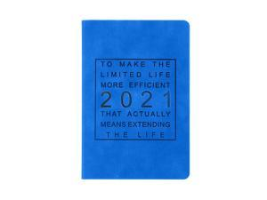2021 Notebook Time Management Personal Monthly Planner Diary Notebook 2021