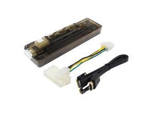 Mini PCI-E Portable External Video Card Dock Graphics Card Laptop Docking Station V8.0 EXP GDC 6pin 8pin Expresscard Interface