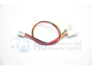 10pcs Lot 12V 3 Pin PC Fan Power Y Cable Splitter Extension Cable Wire