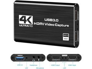 USB3.0 to HDMI Conversion Capture Card HDMI Video Capture Card OBS Recorder 4K HDMI Capture Card