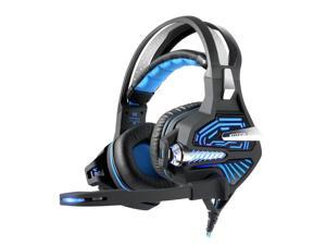 Kotion Each GS100Z 7.1 Surround Sound Stereo Headset with Microphone Volume Control Vibration - Blue