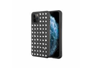 For  iPhone 11 Pro Black Dazzling Diamond Candy Case Cover w/Diamond