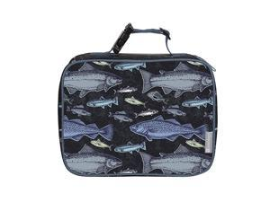 Insulated Durable Lunch Box Sleeve Reusable Lunch Bag Securely Cover Your Bento Box Works with  Bento Box Bentgo Kinsho Yumbox 8quotx10quotx3quot Fish