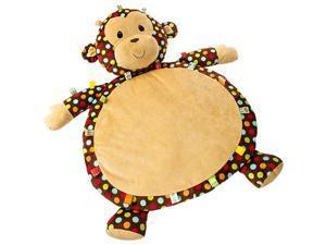 Dazzle Dots Monkey Toy Baby Mat