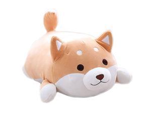 Shiba Inu Dog Super Soft Plush Throw Pillow Lifelike Animal Pillows Plush Toy for Valentines Gift BedSofa Chair