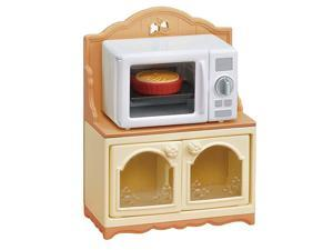 Doll House Furniture and Décor Microwave Cabinet