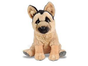 German Shepherd Plush Stuffed Animal Plush Toy Gifts Kids Pet Shop 12 Inches
