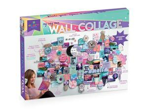 DIY Wall Collage Craft Kit Personalize Your Space with Inspiring Quotes PreCut Designs amp Pictures Includes WallSafe Tape