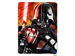 Disney  quotMaster of Evilquot HD Silk Touch Throw Blanket 46quot x 60quot Multi Color