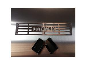 Duramax Brushed Stainless Steel Bumper Grille Insert Compatible with 2015-2019 Chevy Silverado 2500 3500 HD M2M #400-60-3