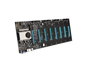 1pc BTC-S37 Riserless Mining Motherboard 8 PCIE 16X Graphics Card SODIMM DDR3 SATA3.0 Support VGA + HDMI-Compatible