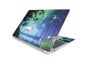 """Mightyskins Skin For Lenovo Ideapad S340 15"""" (2019) - Unicorn Fantasy   Protective, Durable, And Unique Vinyl Decal Wrap Cover   Easy To Apply, Remove, And Change Styles   Made In The Usa"""