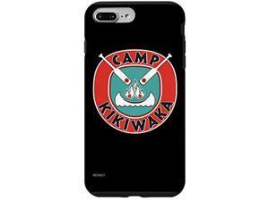 Iphone 7 Plus/8 Plus Disney Channel Bunkd Camp Kikiwaka Black Background Case