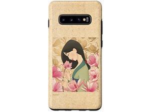 Galaxy S10+ Disney Princess Classic Mulan Pink Lotus Case