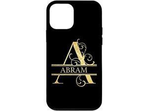 Iphone 12 Mini Abram Name Perfect Custom Gift Case