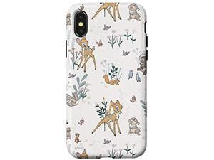 Iphone X/Xs Disney Bambi And Thumper Floral Case