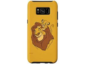 Galaxy S8+ Disney The Lion King Simba And Mufasa Father And Son Case